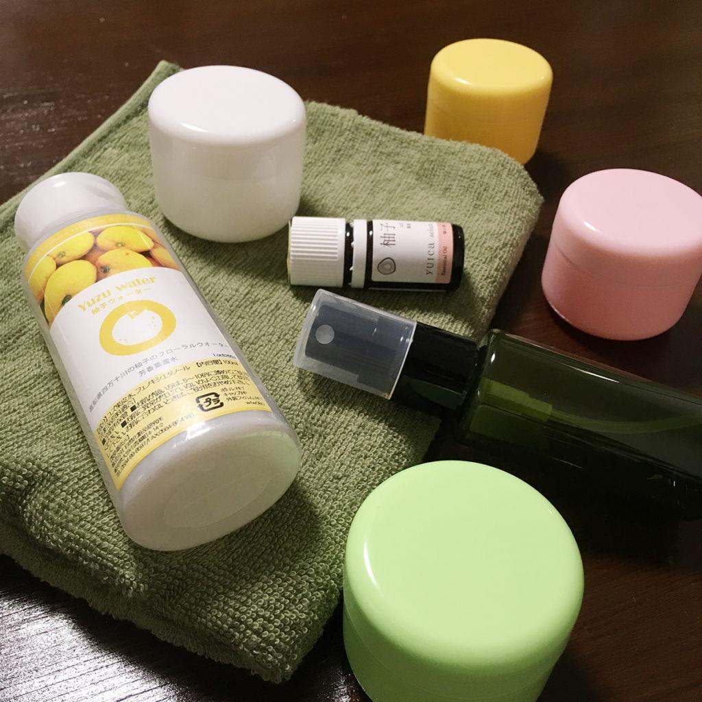 化粧水&保湿クリーム